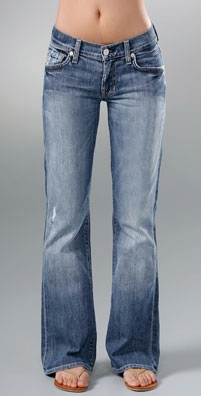 Seven Jeans Boot Cut Short Jean