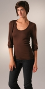 Splendid 1x1 U Neck Top coupon