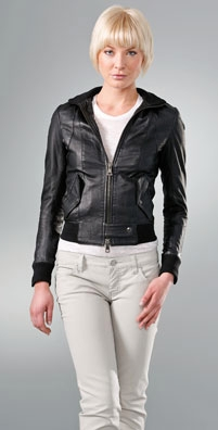S.W.O.R.D Lucca Leather Jacket - shopbop.com from shopbop.com
