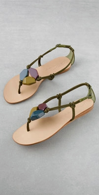 Tapeet Beaded Flat Sandal - shopbop.com