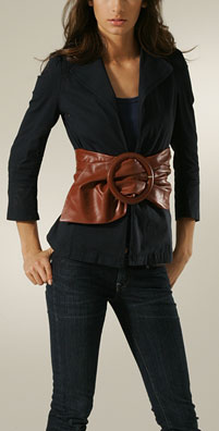 Toast Leather Expose Me Lovely Belt