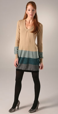 Twelfth St. by Cynthia Vincent U Neck Sweater Dress