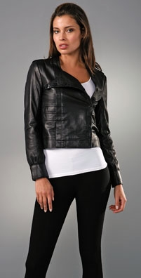 Twenty8Twelve Yves Leather Jacket - shopbop.com from shopbop.com