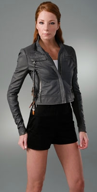 YAYA AFLALO Dallas Leather Jacket - shopbop.com from shopbop.com
