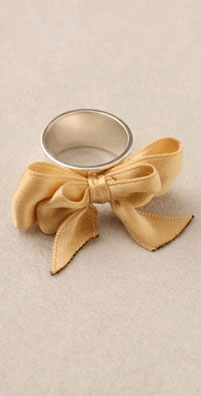 Yarborough Jewelry Ribbon Ring - shopbop.com from shopbop.com