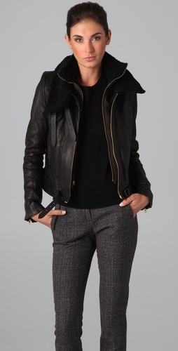 A.L.C. Emerson Leather Jacket