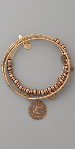 Alex and Ani Zodiac Bracelet Set