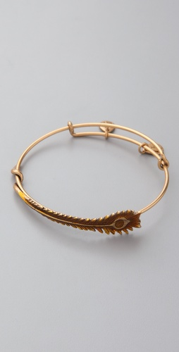 Alex and Ani Feather Bracelet