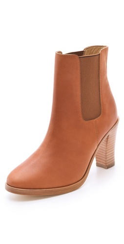 Buy A.P.C Gored Ankle Booties - A.P.C online - Footwear, Womens, Footwear, Booties, at Heel Addict Online Shoe Shop