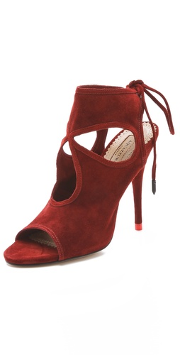 Buy Aquazzura Sexy Thing Cutout Sandals - Aquazzura online - Footwear, Womens, Footwear, Sandals, at Heel Addict Online Shoe Shop
