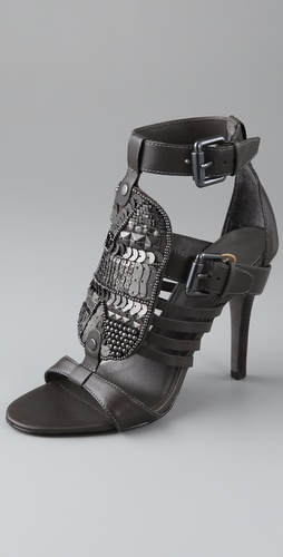 Ash Hype Sequin High Heel Sandals