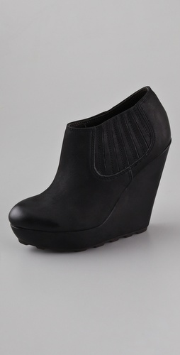 Ash Fuji Platform Booties