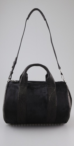 Alexander Wang Rocco Haircalf Mini Duffel