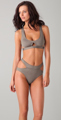 buy Alexander Wang Cutout Bikini Set by Alexander Wang online swimsuits shop