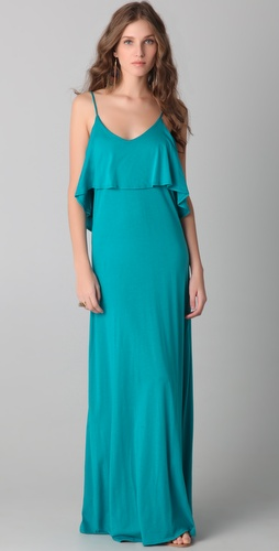 Blue Life Maxi Bachelorette Dress