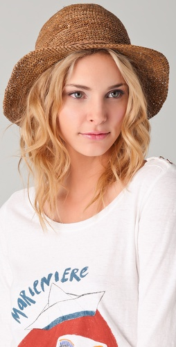Bop Basics Raffia Crochet Crusher Hat