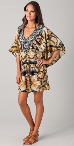 buy Camilla Sphinx Drawstring Cover Up by Camilla online swimsuits shop