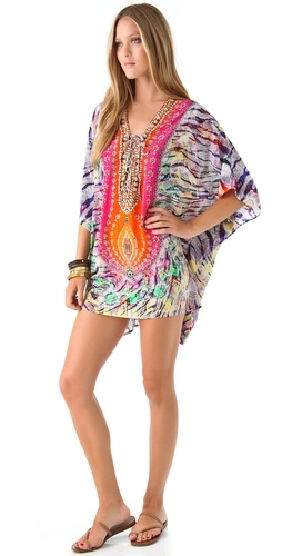 buy Camilla Waterfall Lace Up Caftan by Camilla online swimsuits shop