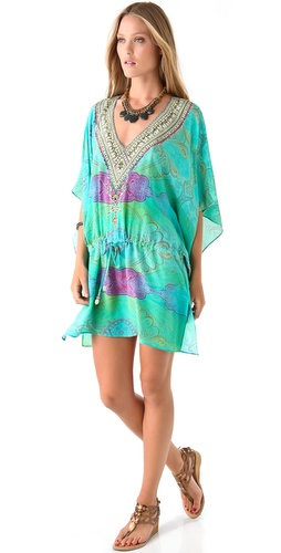 buy Camilla Antigua Drawstring Caftan by Camilla online swimsuits shop