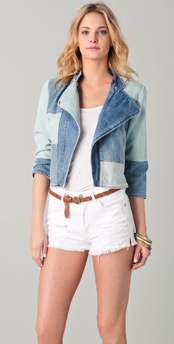 Citizens of Humanity Vagabond Denim Moto Jacket