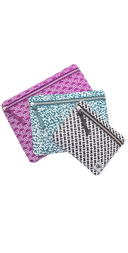Diane von Furstenberg Vintage Collection Cosmetic Pouch Set