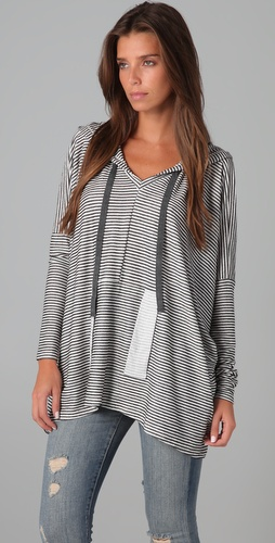 Dolan Hooded Square Top