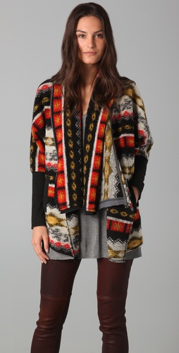 Dolan Collared Blanket Cardigan