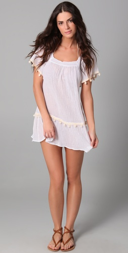 buy Eberjey Zia Paradise Found Cover Up Dress by Eberjey online swimsuits shop