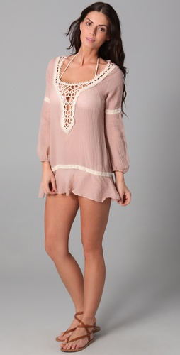 buy Eberjey Natalya Paradise Found Tunic by Eberjey online swimsuits shop