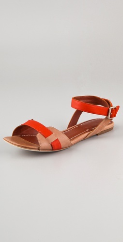 Buy Elizabeth and James Paige Flat Sandal With Ankle Strap - Elizabeth and James online - Footwear, Womens, Footwear, Sandals, at Heel Addict Online Shoe Shop