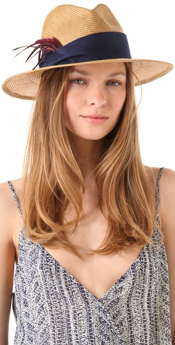 Eugenia Kim Bianca Straw Fedora at The Outnet image