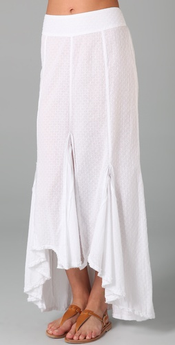 Free People Morning Glory Maxi Skirt