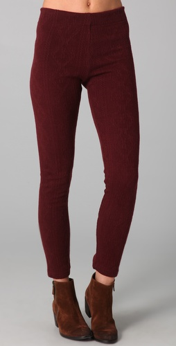 Free People Cable Knit Leggings