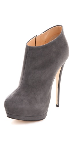 Buy Giuseppe Zanotti Suede Platform Booties - Giuseppe Zanotti online - Footwear, Womens, Footwear, Booties, at Heel Addict Online Shoe Shop