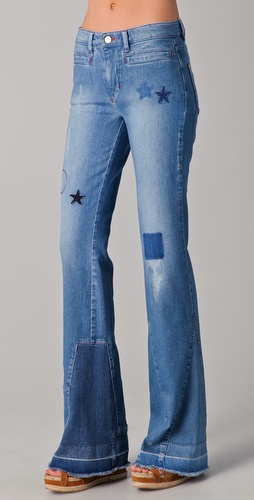 MiH Star Flare Jeans