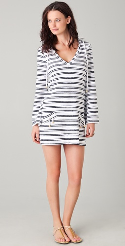 buy Heidi Klein Terry Hooded Cover Up Dress by Heidi Klein online swimsuits shop