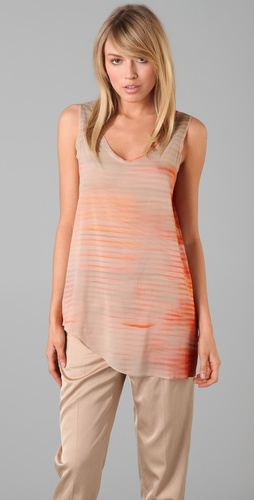 Helmut Lang Glare Print Tank