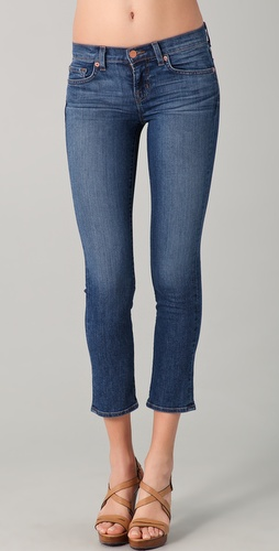 J Brand 7/8 Low Rise Cropped Jeans