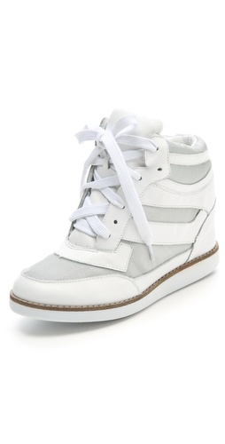 Buy Jeffrey Campbell Gio Hidden Wedge Sneakers - Jeffrey Campbell online - Footwear, Womens, Footwear, Sneakers, at Heel Addict Online Shoe Shop