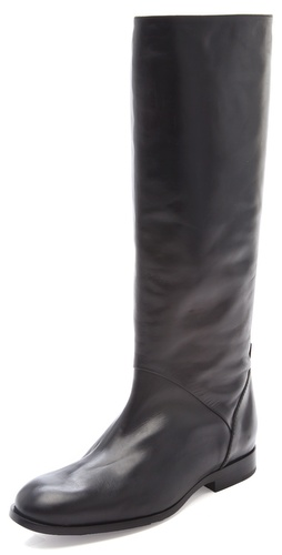 Buy Jil Sander Navy Knee High Boots - Jil Sander Navy online - Footwear, Womens, Footwear, Boots, at Heel Addict Online Shoe Shop