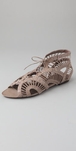 Joie Leo Strippy Flat Sandals