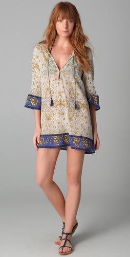 buy Joie Joie a La Plage Calica Tunic Cover Up by Joie online swimsuits shop