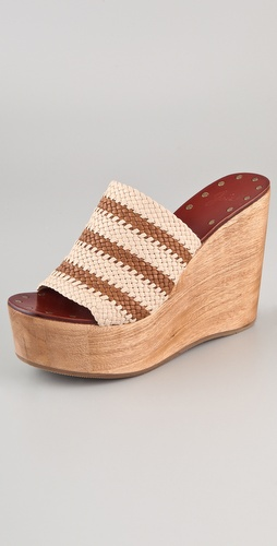 Buy Joie Let's Go Crazy Woven Wedges - Joie online - Footwear, Womens, Footwear, Sandals, at Heel Addict Online Shoe Shop