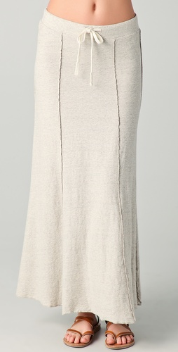 James Perse Paneled Flared Skirt