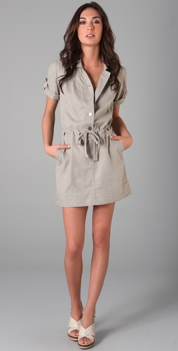 Juicy Couture Washed Linen Dress