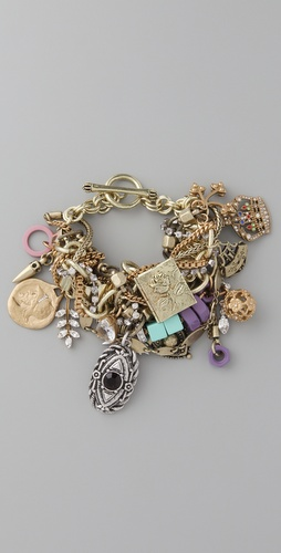 Juicy Couture Laurel Canyon Eccentric Charm Bracelet