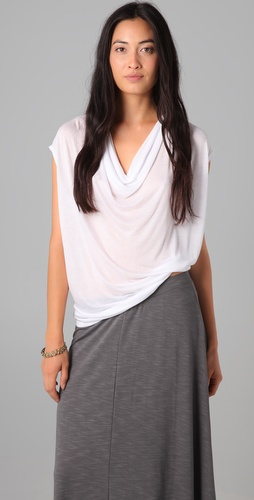Lanston Oversized Drape Tee