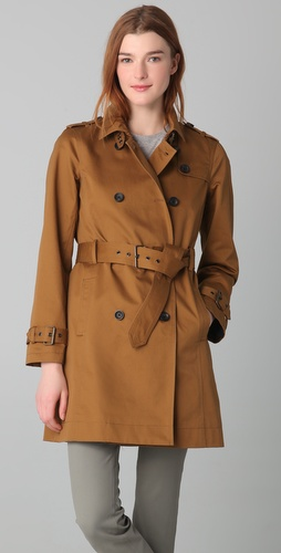 Madewell Harrison Trench Coat