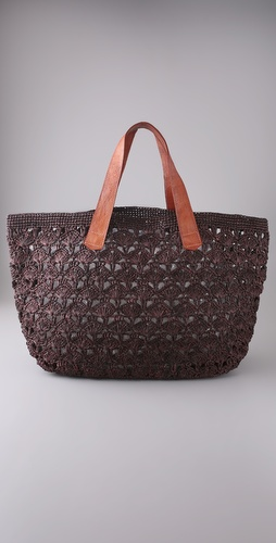 Mar Y Sol Valencia Oversized Raffia Tote