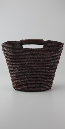 Mar Y Sol Dakar Raffia Tote